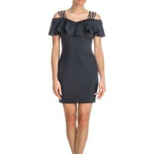 Guess - off the shoulder strappy scuba dress